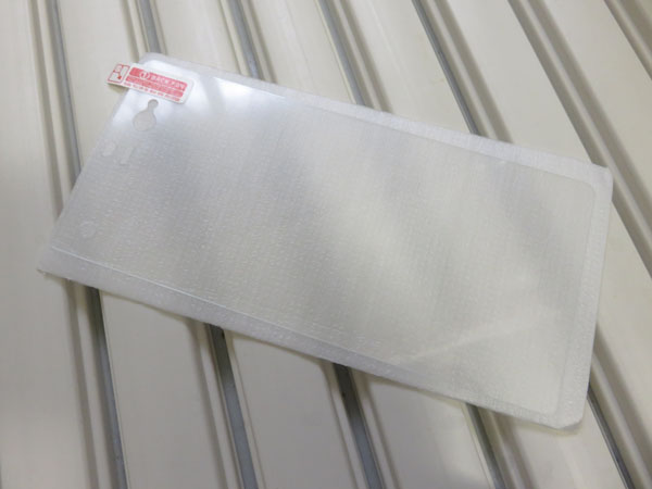 Fujitsu arrows NX F-01Jの液晶保護ガラスフィルム