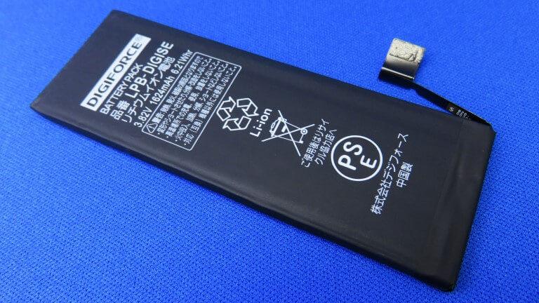 iPhone SEのバッテリーを互換バッテリーに交換する!