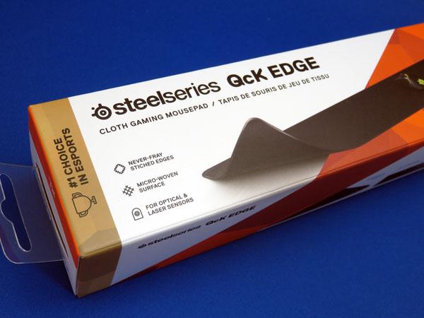 SteelSeries QcK Edge XL マウスパッドを購入する!