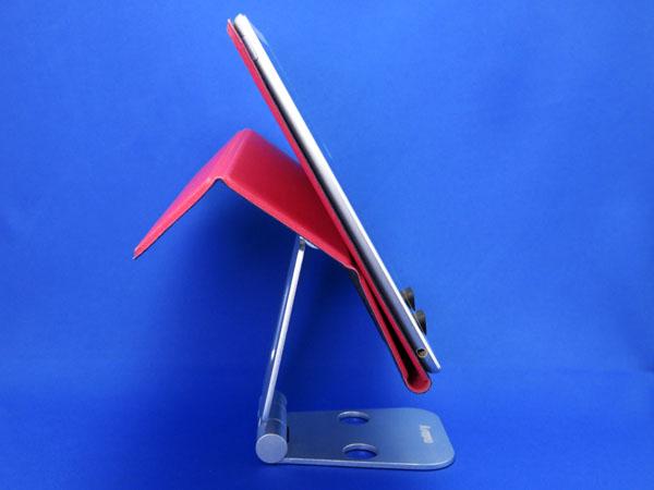 iPad用のアルミスタンドを購入する!