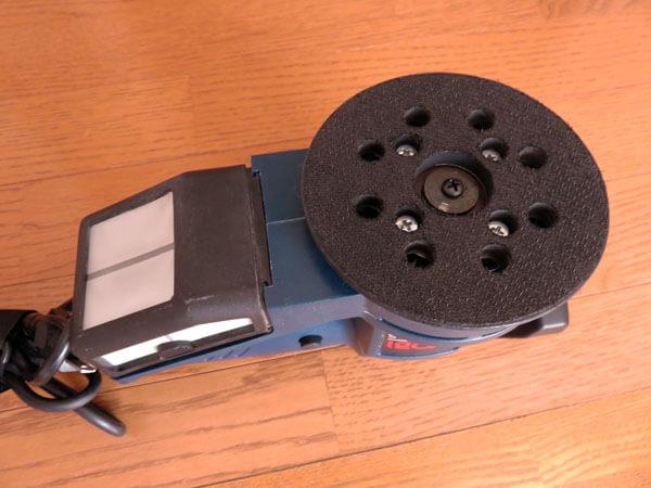昔使っていた電動サンダー&ポリッシャーを使えるようにする!