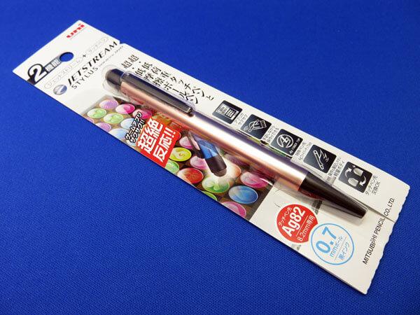 スタイラスペン 2本目の三菱鉛筆uni JETSTREAM STYLUSを購入する