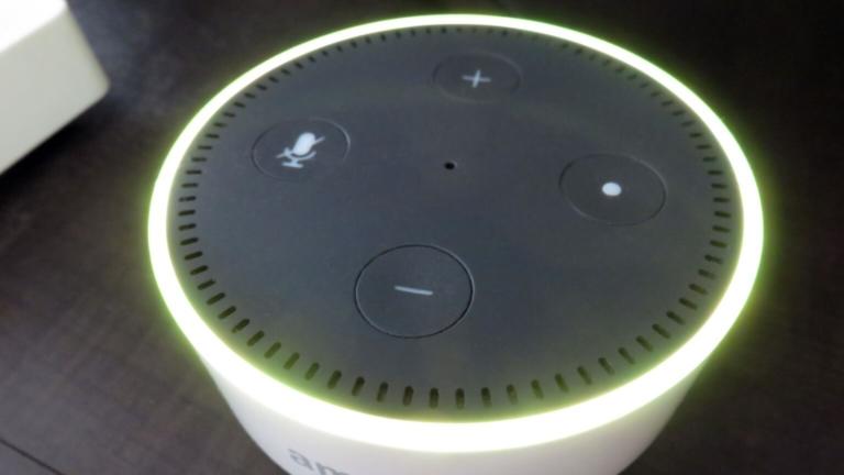 Echo Dot(エコードット)のライトリングがイエローに点滅する!