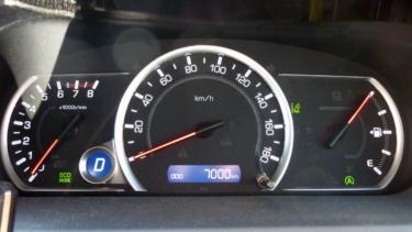 愛車トヨタノア80系の走行距離が7,000kmになりました!