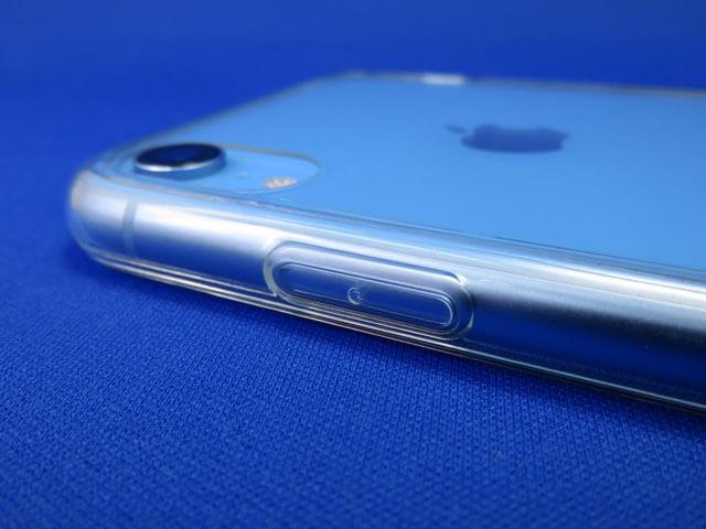 クリアタイプのiPhone XR用スマホケースを購入する!