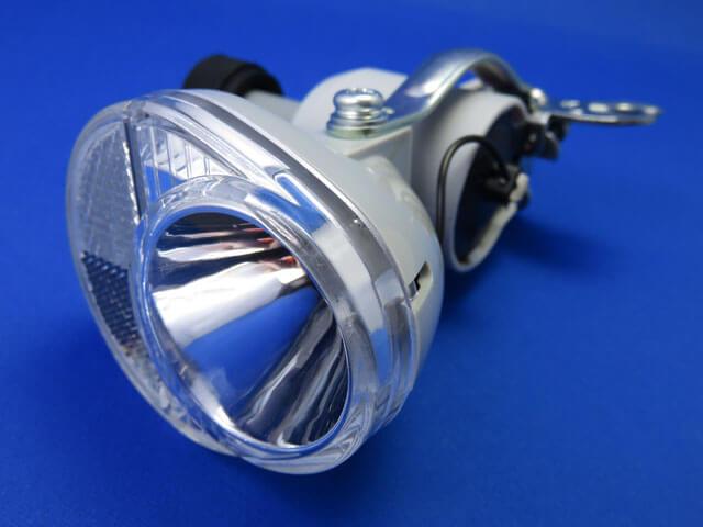 長女の自転車のヘッドライトをLED発電ランプのタイプに交換する!