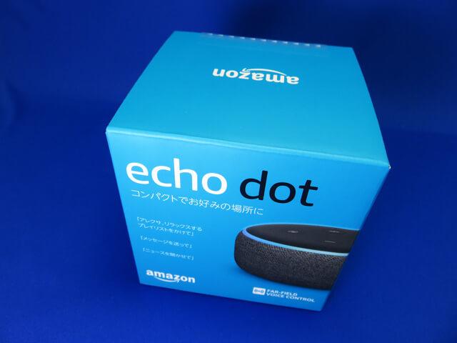 Amazon Cyber Monday Sale 2019でEcho Dotを購入してみた!