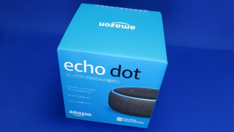 Amazon Cyber Monday Sale 2019でEcho Dotを購入してみた!
