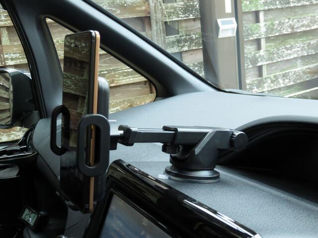愛車トヨタノア80系で使うスマホホルダーを購入する!