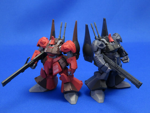 【FW GUNDAM STANDart:】RMS-099 RICK DIAS [DARK GRAY color]
