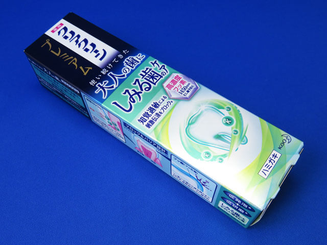 【くまポン】花王クリアクリーンプレミアムしみる歯のケア/美白