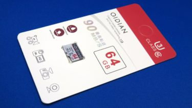 ドライブレコーダー用にQIDIAN microSDカード 64GBを購入する