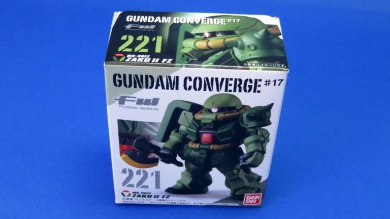 【ガンダムコンバージ】62個目はZAKU II FZ!