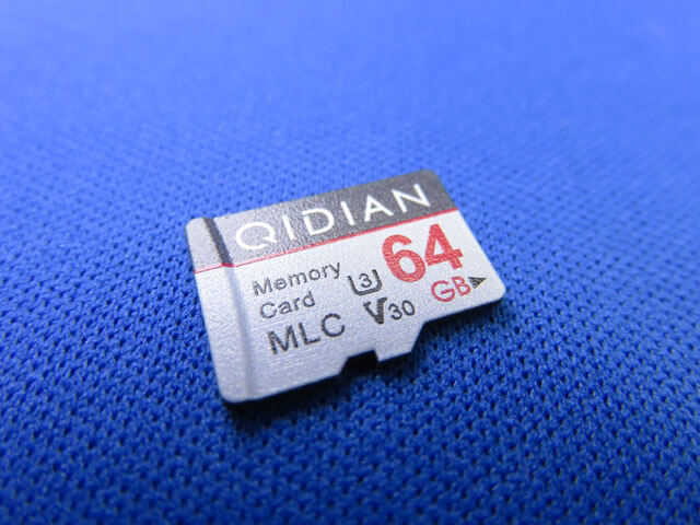 QIDIAN microSDカード 64GB 高耐久MLC Wafer搭載を再度購入する