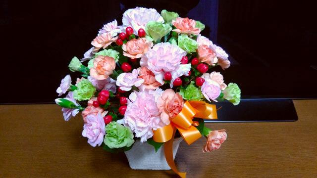今年の母の日はインターネット花キューピットを利用してみる!