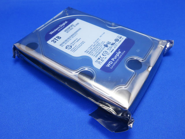 Panasonic DMR-BXT870用のHDDを購入する!