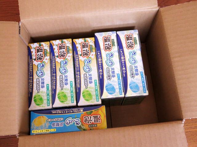 くまポンサイトで入浴剤 温泡 ONPO さっぱり炭酸湯を購入する!
