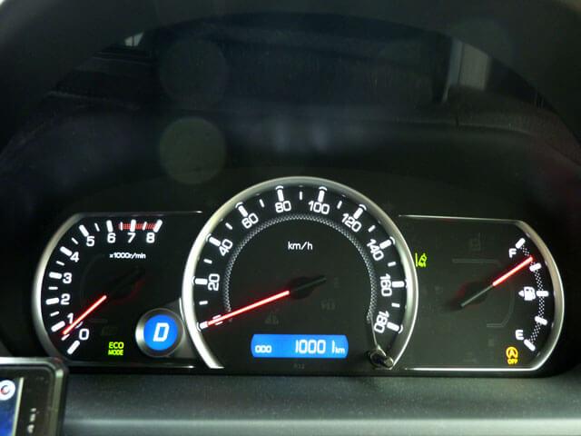 愛車トヨタノア80系の走行距離が10,000kmになりました!