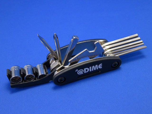 DIME 2020年11月号付録 DIME MULTI WRENCH & TOOL 14について