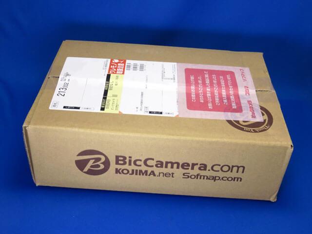 ビックカメラ.comで購入したiPhone SEが届く