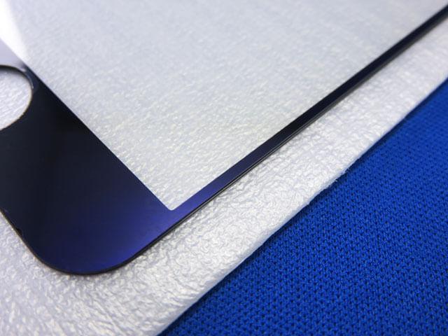 iPhoneSEのブルーライトカット仕様ガラス液晶保護フィルムを購入