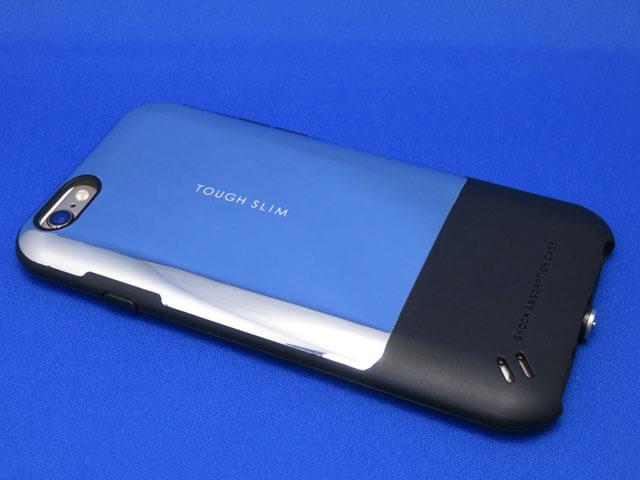 ELECOM iPhone6s/6用 TOUGH SLIM プレミアム ミラーシルバー購入