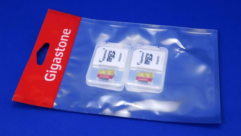 LG Style3 L-41Aで使うmicroSDカード Gigastone 64GBを購入する