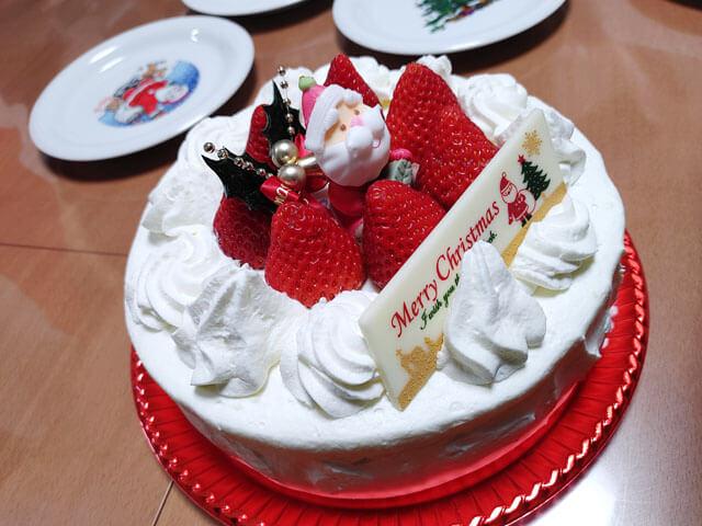 クリスマスケーキでdocomo LG style3 L-41Aのカメラテスト