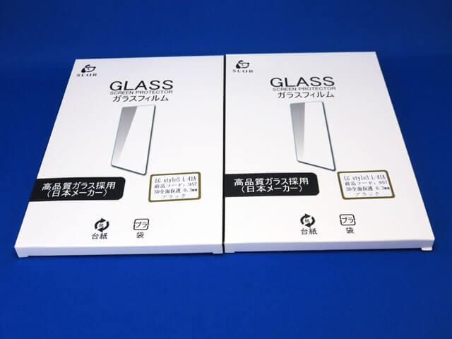 docomo LG style3 L-41A用 全面保護ガラスフィルムを購入する!