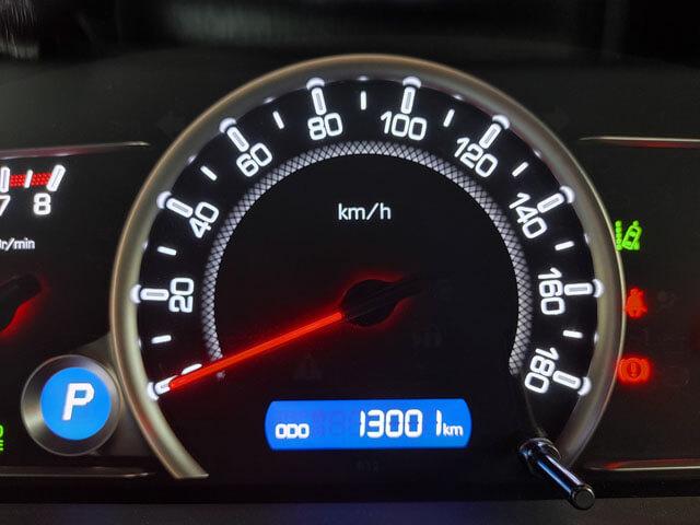 愛車トヨタノア80系の走行距離が13,000kmになりました!