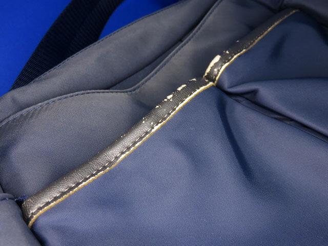 奥さんが使っているキタムラのショルダーバッグを補修する!