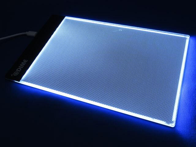 DIME 2021年7月号付録 LEDライティングボードをチェックする!