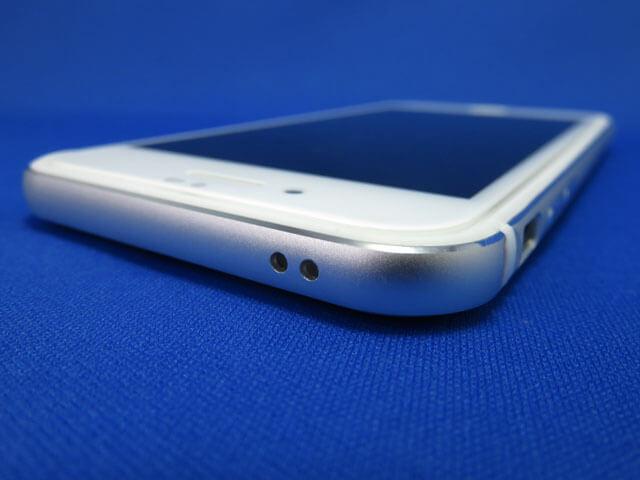 レイ・アウト iPhone SE2/8/7 アルミバンパー+背面クリアパネル