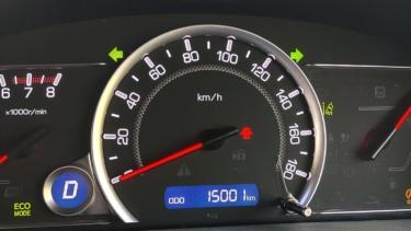 愛車トヨタノア80系の走行距離が15,000kmになりました!